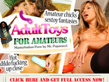 Adult Toys for Amateurs. Masturbation Porn by Mr. Paparacci